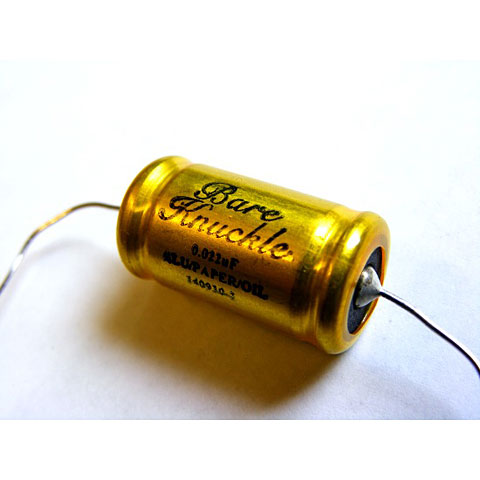 Bare Knuckle Jensen Capacitor 0.022µfd