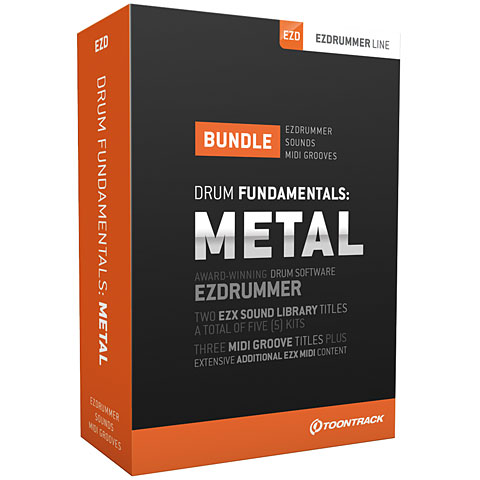Toontrack Drum Fundamentals: Metal