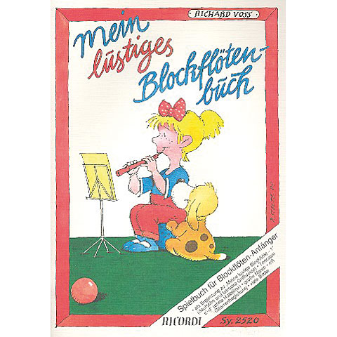 Ricordi Mein lustiges Blockflötenbuch