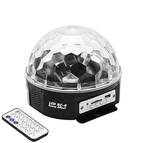 Eurolite LED BC-8 Strahleneffekt MP3