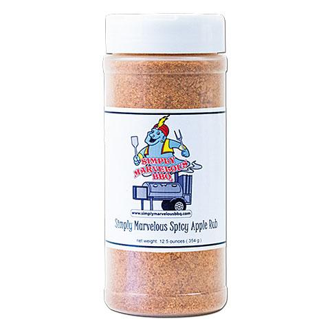Simply Marvelous Spicy Apple Rub 12.5 oz/354 g