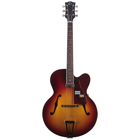 Gibson Custom Shop Solid Formed 17  Hollowbody Venetian