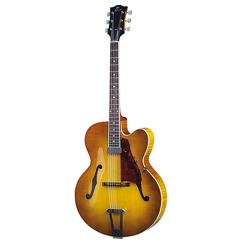 Gibson Custom Shop Solid Formed 17'' Hollowbody Venetian2