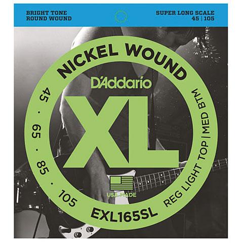 D'Addario EXL165SL Nickel Wound .045-105