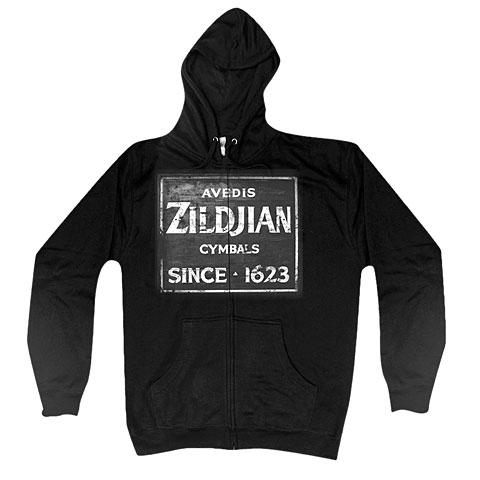 Zildjian Quincy Vintage Sign T4642 Zip Hoodie M