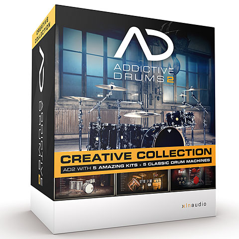 XLN Audio Addictive Drums 2 Creative Bundle