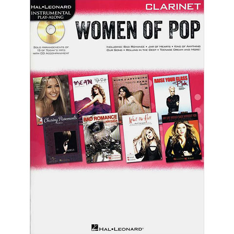 Hal Leonard Woman of Pop for Clarinet