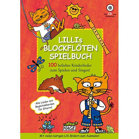 Hage Lillis Blockflöten Spielbuch