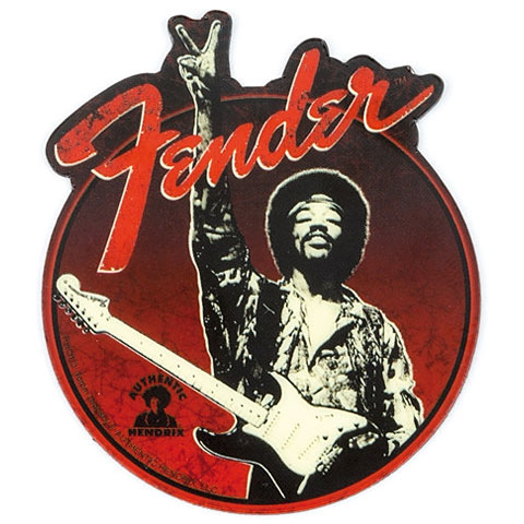 Fender Jimi Hendrix ''Peace Sign'' Magnet