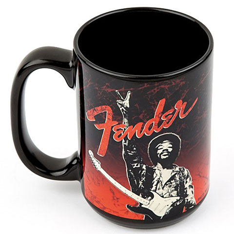 Fender Kaffeetasse Jimi Hendrix ''Peace Sign'' Mug