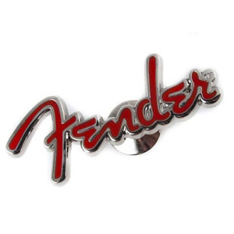 Fender Logo Pin, Red