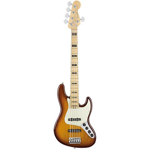 Fender American Elite Jazz Bass V ASH MN TBS