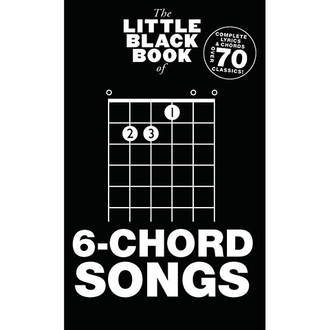 Music Sales The Little Black Book of 6-Chord Songs