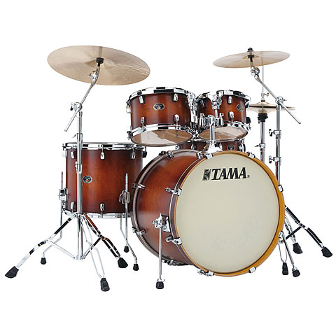 Tama Silverstar 22  Antique Brown Burst