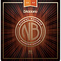 Cuerdas guitarra acúst. D'Addario NB1047 Nickel Bronze Set