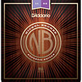 Cuerdas guitarra acúst. D'Addario NB1152 Nickel Bronze Set