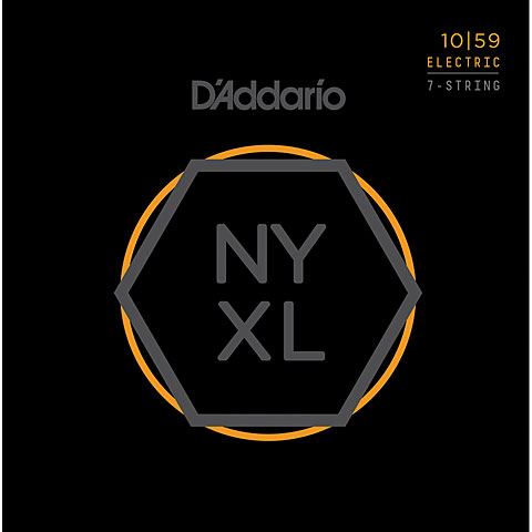 D'Addario NYXL1059 7-String Set