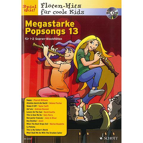 Schott Megastarke Popsongs 13