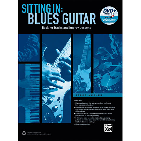 Alfred KDM Sitting In: Blues Guitar (+ DVD)
