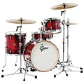 "Gretsch Catalina Club 18"" Gloss Crimson Burst Drumset « Batería"