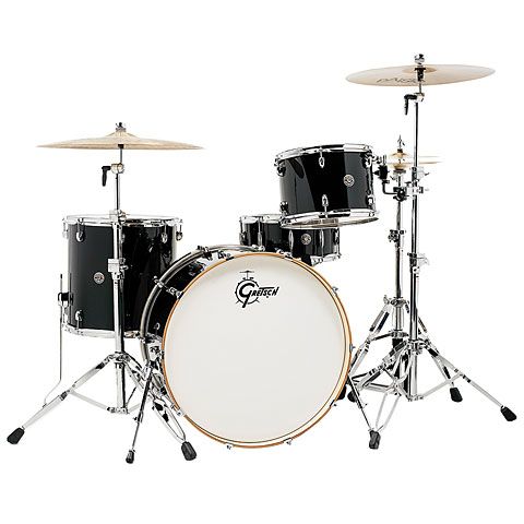 Gretsch Catalina Club 24  Piano Black Drumset