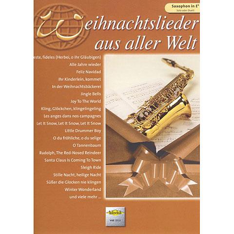 Holzschuh Weihnachtslieder aus aller Welt for Alto-Saxophon