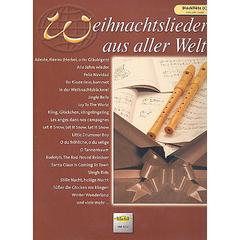 Holzschuh Weihnachtslieder aus aller Welt for Recorder