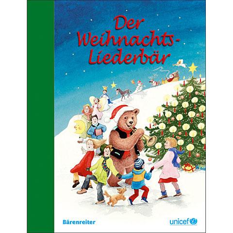 Bärenreiter Der Weihnachts-Liederbär for Guitar/Voice
