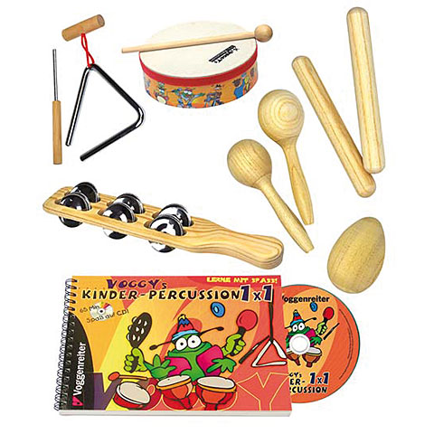 Voggenreiter Voggy's Kinder Percussion-Set