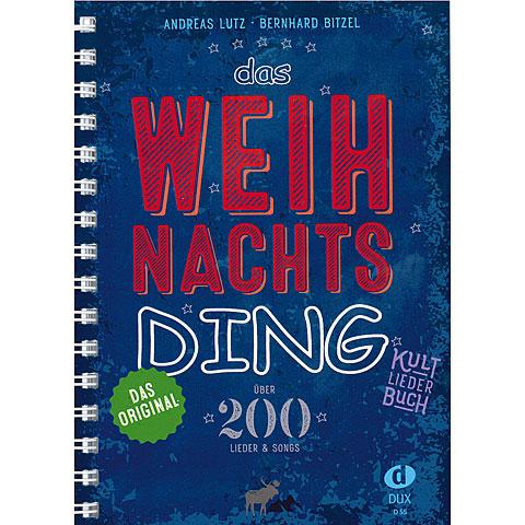 Dux Das Weihnachts-Ding Kultliederbuch