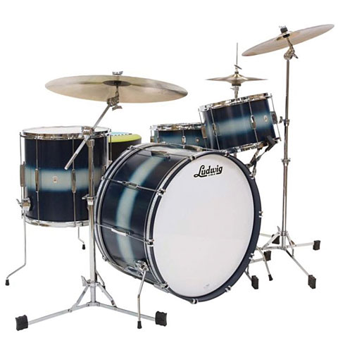 Ludwig Club Date USA 22'' Blue Silver Duco