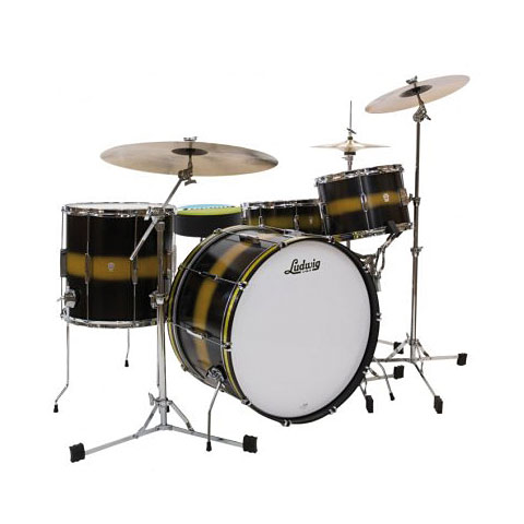 Ludwig Club Date USA 24'' Black Gold Duco