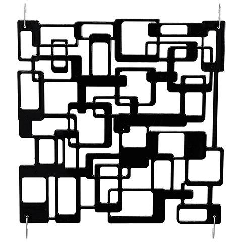 Europalms Raumteiler Labyrinth schwarz 4x