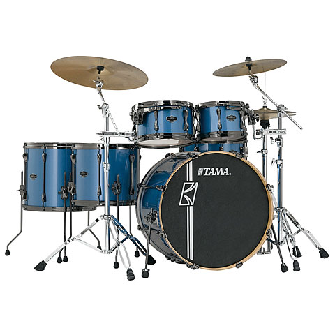 Tama Superstar Custom Hyper Drive 22  Vintage Blue Metallic