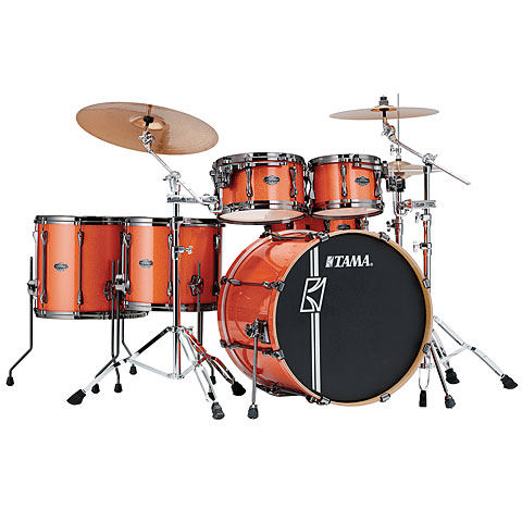 Tama Superstar Hyper Drive 22  Bright Orange Sparkle