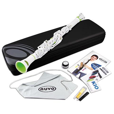 Nuvo Clarinéo Standard Kit white-green