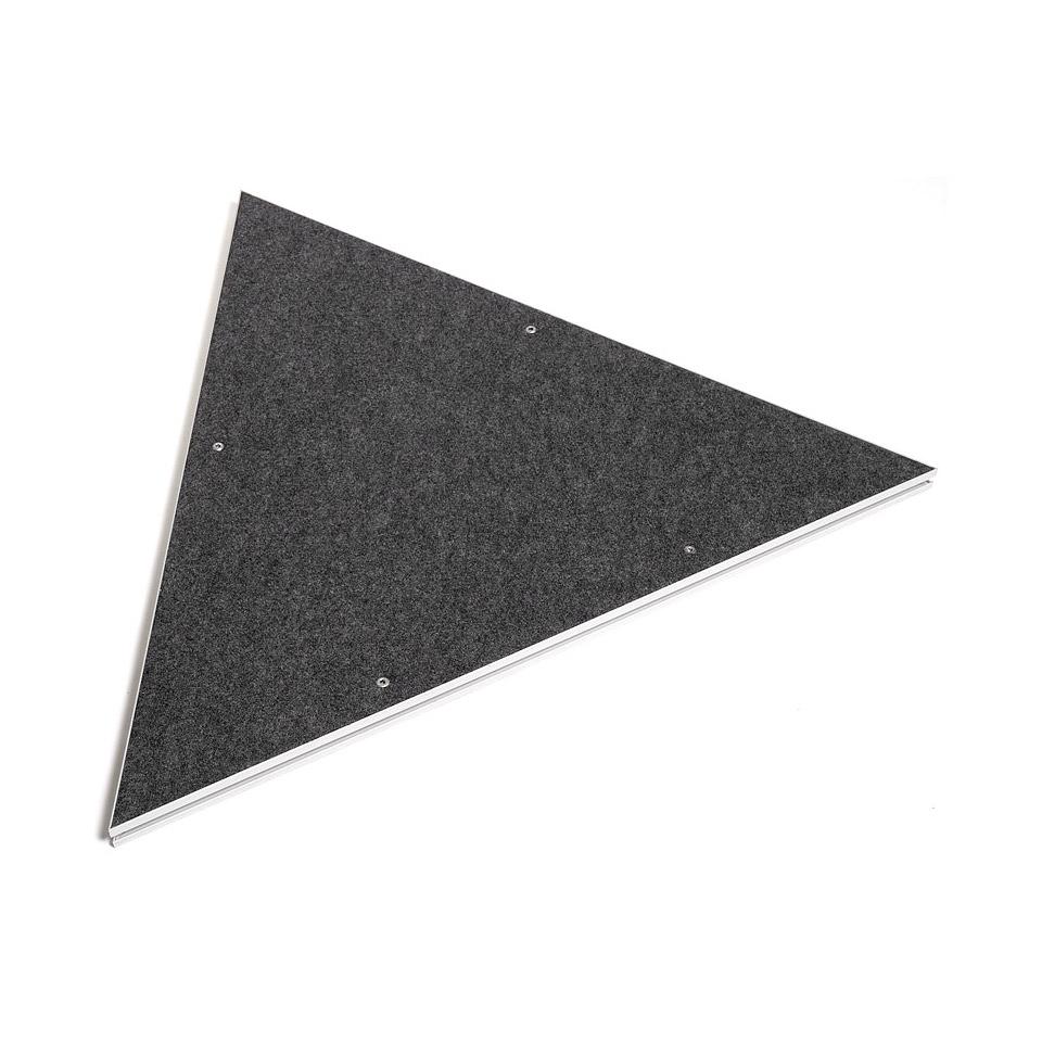 Intellistage Podestplatte Dreieck Teppich « Elementos de