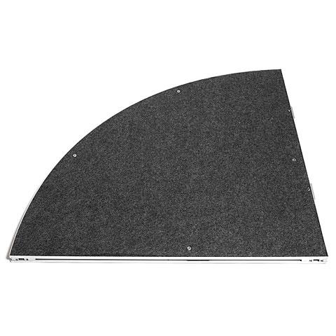 Intellistage Podestplatte Kreiselement Teppich