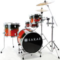 Sakae Pac-D Forest Fade Compact Drumset « Batería