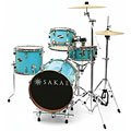 Sakae Pac-D Sonic Blue Compact Drumset « Batería