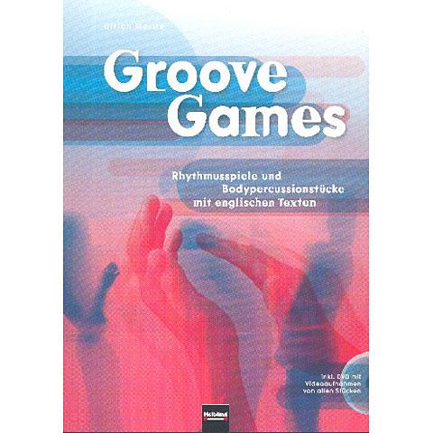 Helbling Groove Games; Rhythmusspiele und Bodypercussionstücke mit englischen Texten