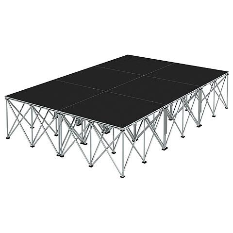 Intellistage Bühne 2 x 3 m Industrial Diamond