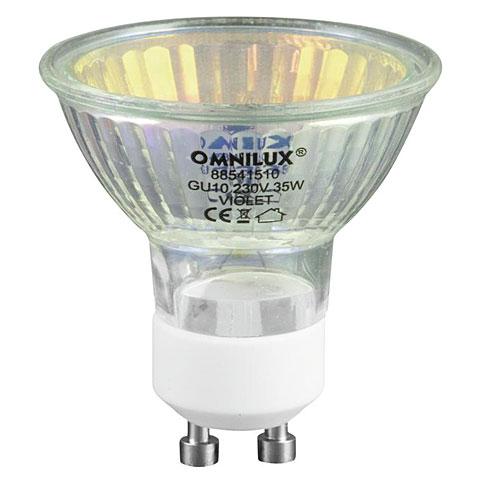 Omnilux GU-10 230V/35 W 1500h violett