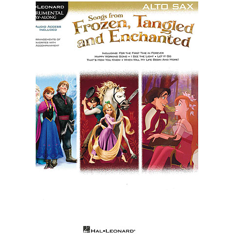 Hal Leonard Songs from Frozen, Tangled and Enchanted