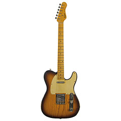 Haar Traditional T aged, 2Tone Sunburst, Flamed MN « Guitarra eléctrica