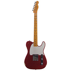 Fender Custom Shop 1955 Esquire Relic Faded Red Sparkle « Guitarra eléctrica