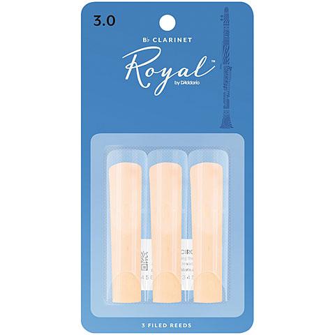 D'Addario Royal Bb-Clarinet 3,0 3er Pack