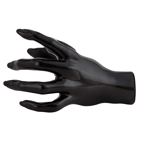 GuitarGrip The Valkyrie Black Metallic Left