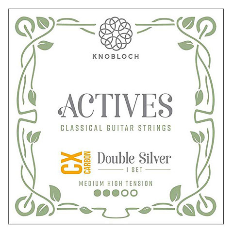 Knobloch Strings Double Silver Carbon 450KAC MHT