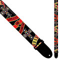 Correas guitarra/bajo Perri's Leathers Ltd Guns ´N Roses Banner